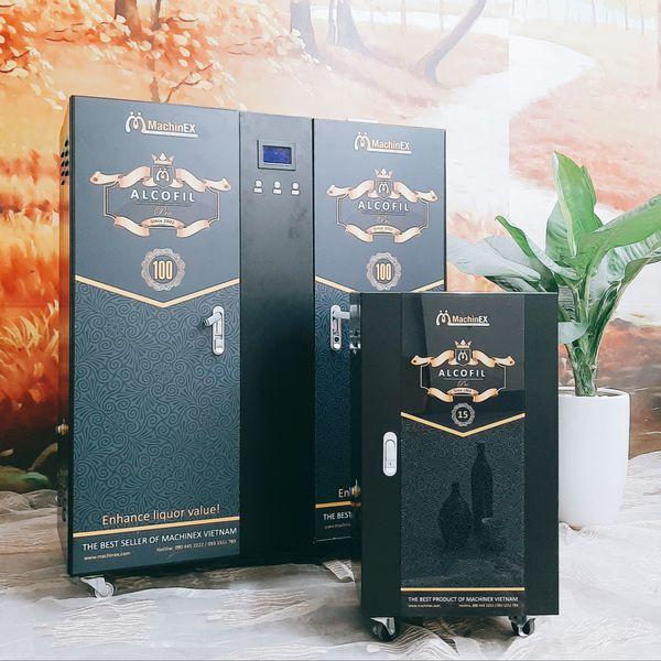 Máy lọc rượu mini machinex ALCOFIL