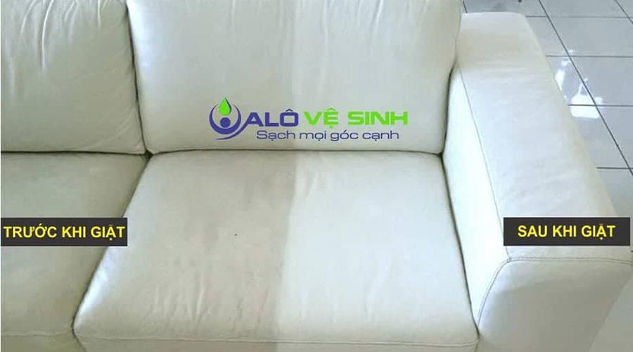 Sau khi làm vệ sinh xong, ghế Sofa của bạn sẽ khoác lên mình diện mạo mới